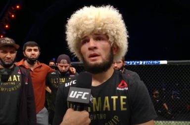 Khabib Nurmagomedov gaat met pensioen UFC 254