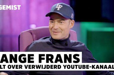 Lange Frans in de uitzending van Radio 538