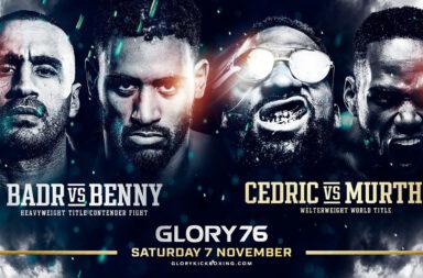 Glory 76 Ahoy Rotterdam 19 december 2020 Badr Hari vs Benny