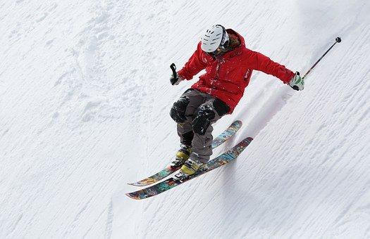 Skiën.