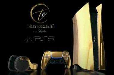 De PlayStation 5 is nu ook in een gouden variant verkrijgbaar 3