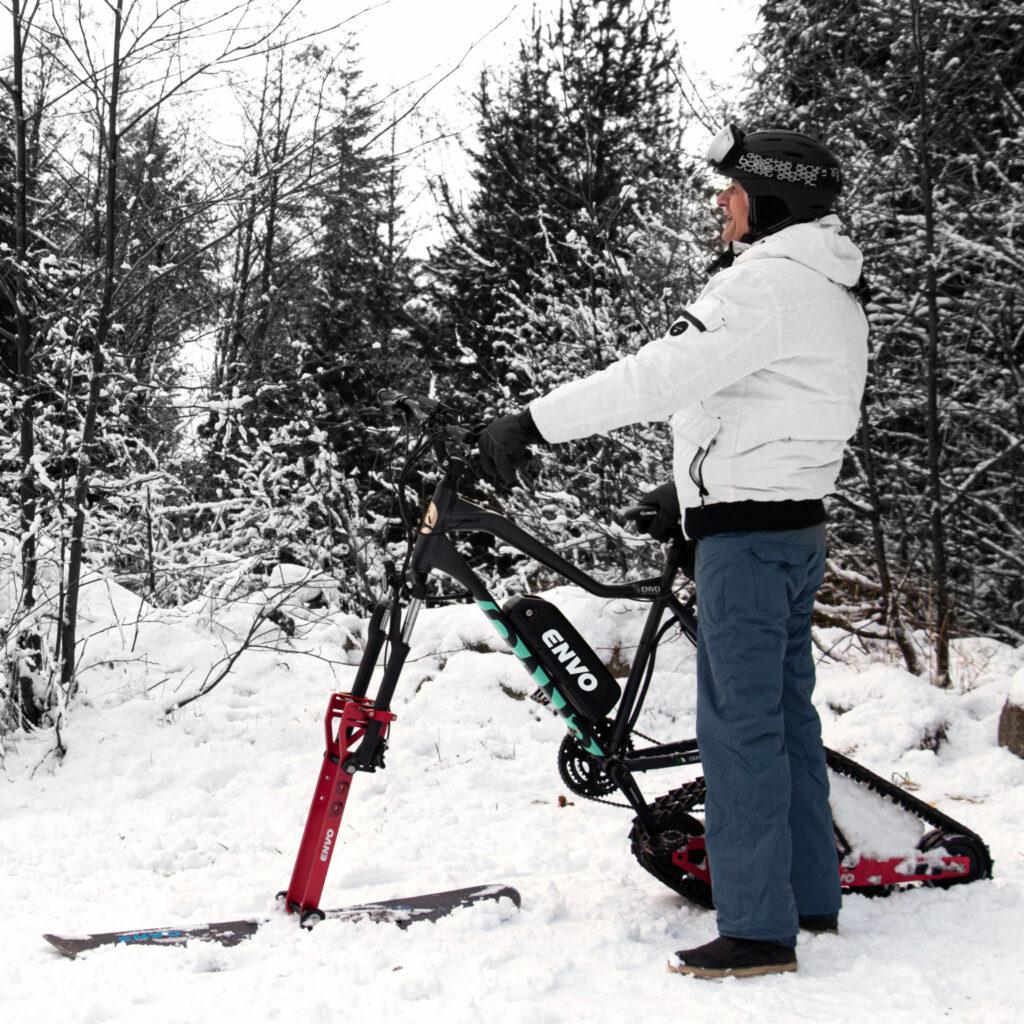 Envo ebike kit voor in de sneeuw