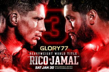 GLORY 77 Rico vs Jamal III 30 januari 2021