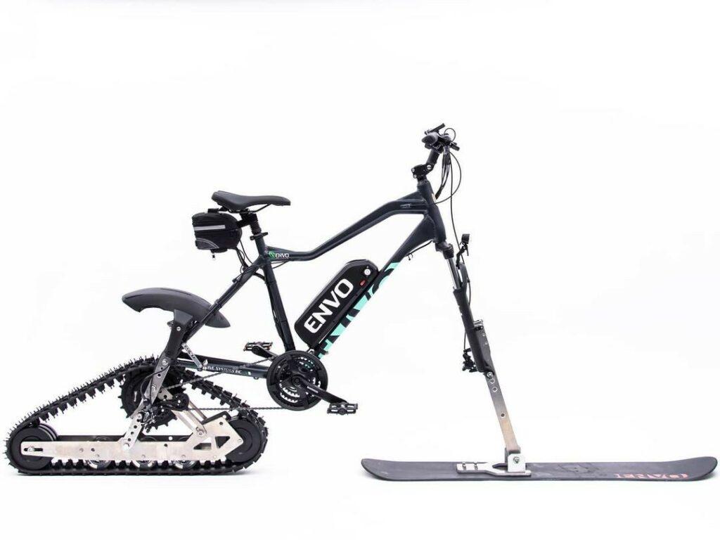 Tover je fiets om in een dikke sneeuwscooter dankzij deze 'Envo' kit 3