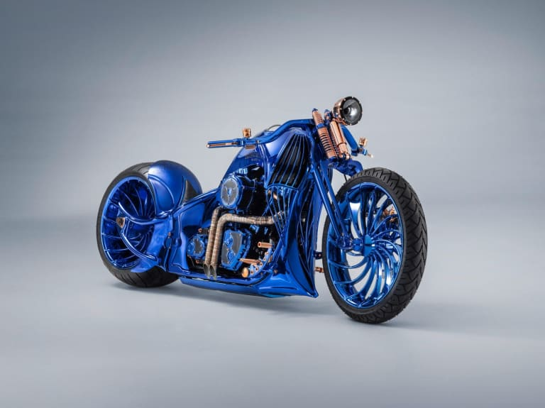 Harley Davidson Bucherer Blue Edition 1